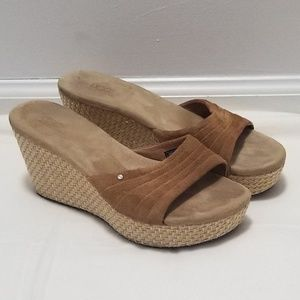 Ugg basket weave wedges